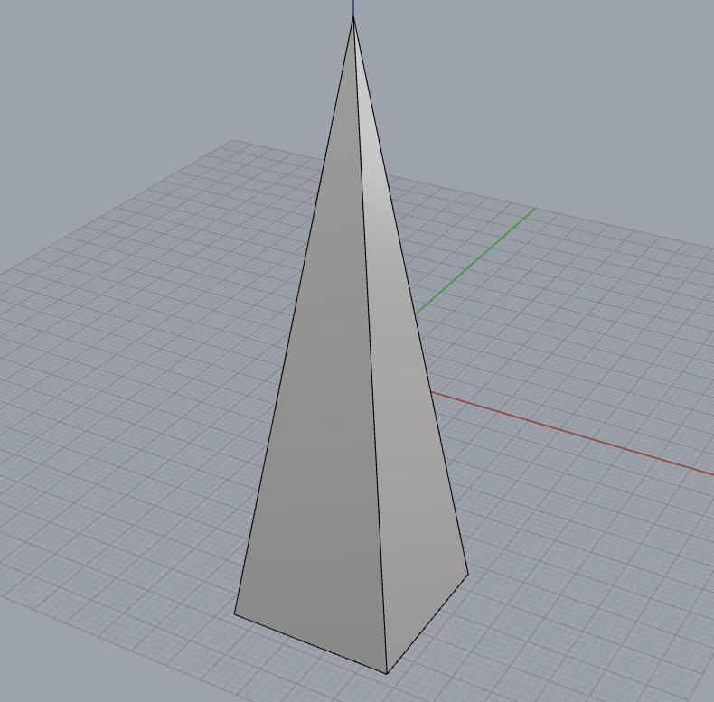 Small narrow pyramid001